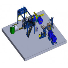 ID and OD Coil Packing Line Machine