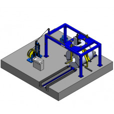 Slit Coil/ ID/ Radial Strapping Machine